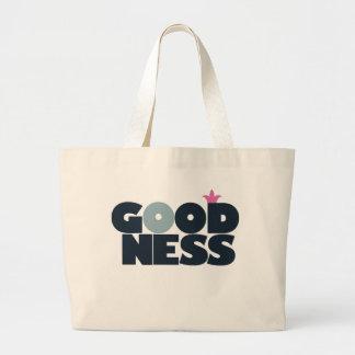 Goodness Jumbo Tote Bag