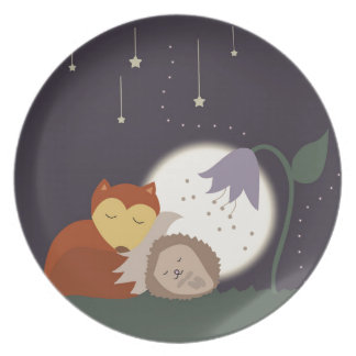 Goodnight Friends Party Plate