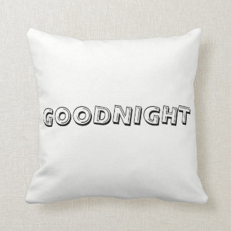 """Goodnight, Sweet Dreams "" pillow"