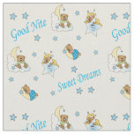 Goodnight Teddy Bears Fabric