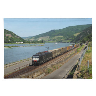 Goods train in ASS one ASS on the Rhine Placemat