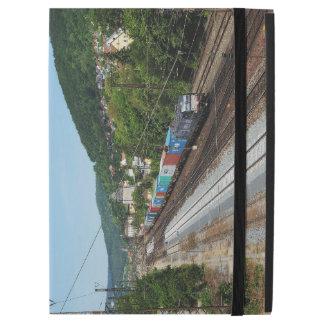 "Goods train in Gemünden at the Main iPad Pro 12.9"" Case"