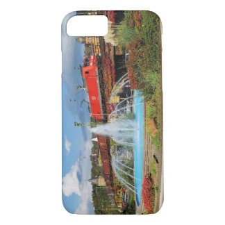 Goods train in Linz on the Rhine iPhone 8/7 Case