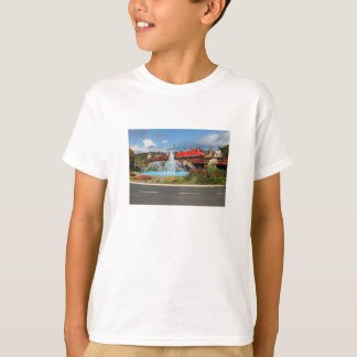 Goods train in Linz on the Rhine T-Shirt