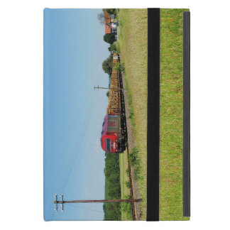 Goods train in Simtshausen Cover For iPad Mini