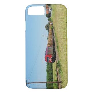 Goods train in Simtshausen iPhone 8/7 Case
