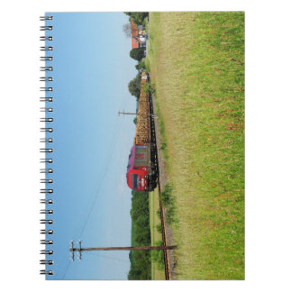 Goods train in Simtshausen Notebook
