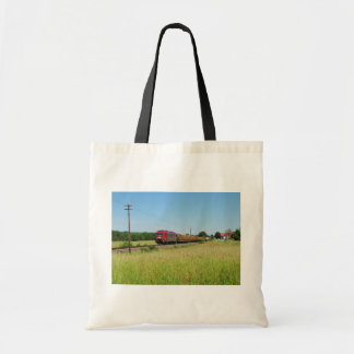 Goods train in Simtshausen Tote Bag