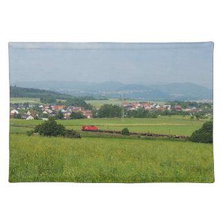 Goods train with Birkenbringhausen Placemat