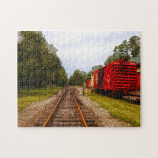 Goodspeed  Boxcars. Jigsaw Puzzle