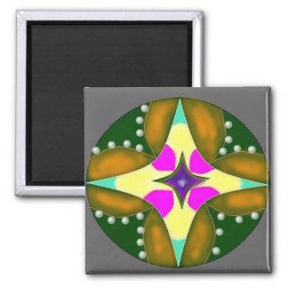 Goodwill Mandala Square Magnet