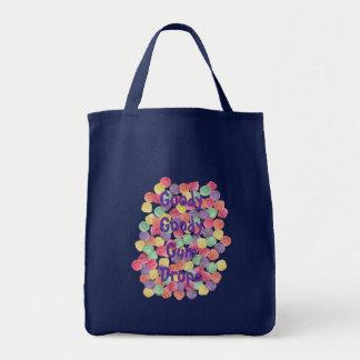 Goody Goody Gum Drops Grocery Tote Bag