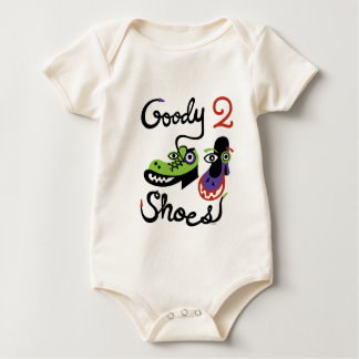 Goody Two Shoes Baby Bodysuit