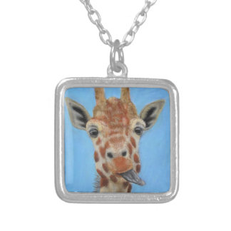 Goofball Silver Plated Necklace