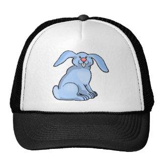 Goofy Blue Bunny Trucker Hats