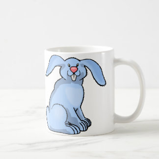 Goofy Blue Bunny Mug