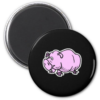 goofy chubby pig magnets