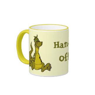 Goofy Dragon Ringer Mug