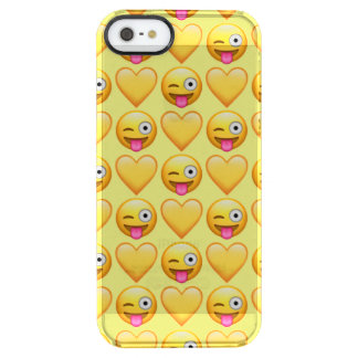 Goofy Emoji iPhone SE/5/5s Clearly™ Deflector Case