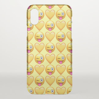 Goofy Emoji iPhone X Clearly™ Case