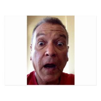 Goofy faceimage.jpg postcard