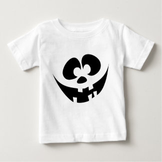 Goofy Funny Jack-o'-lantern face Baby T-Shirt