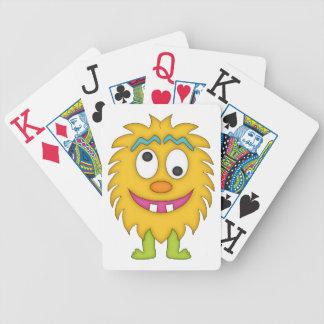 Goofy Monster-Cartoon Card Deck
