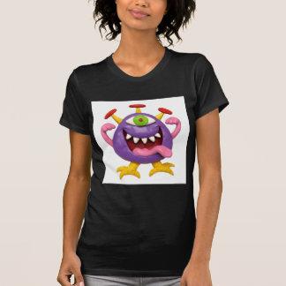 Goofy Purple Monster Tshirts