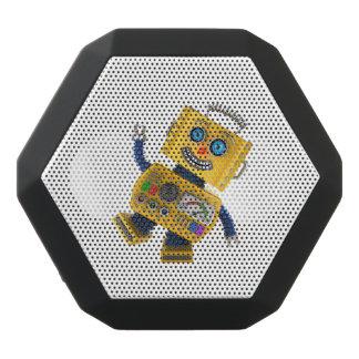 Goofy yellow toy robot