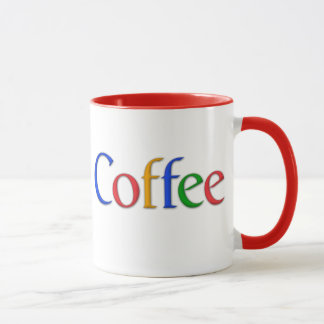 """google"" coffee mug"