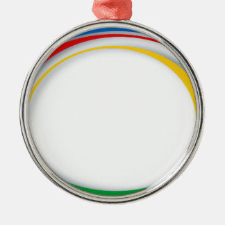 Google colours metal ornament