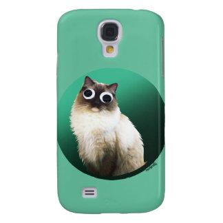 'Googly Cat' Galaxy S4 Cases