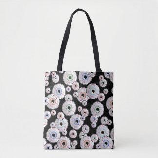 Googly Eyed Eyeballs Tote Bag