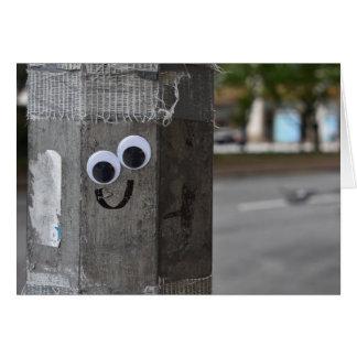 Googly Eyes Eyeballs New York City Photography NYC Card