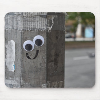 Googly Eyes Eyeballs New York City Photography NYC Mouse Pad