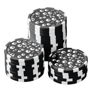 Googly Eyes Poker Chips