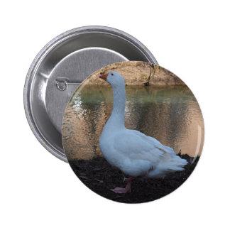 Goose 6 Cm Round Badge