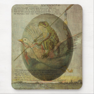 Goose and Frog's Easter Journey Mouse Pad