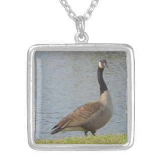 Goose By Pond Necklace