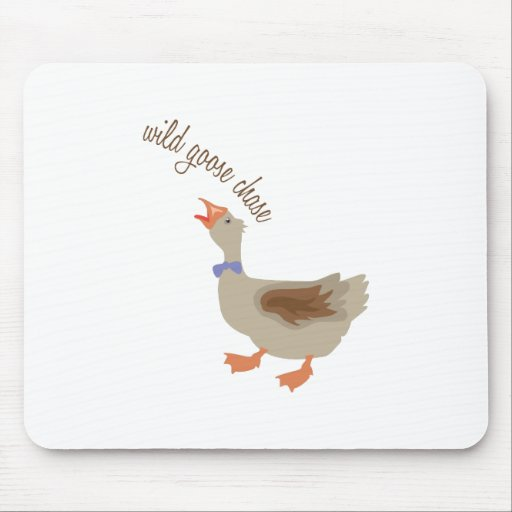 Goose Chase Mouse Pads