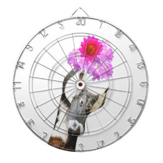 Goose cute funny adorable farm animal girl kids dartboard