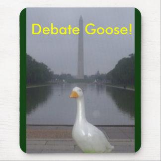 goose, Debate Goose! Mouse Pad