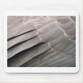 Goose Feathers Mouse Pad