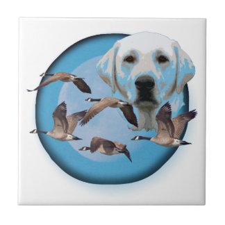 Goose hunter 3 ceramic tile