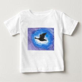 Goose In Flight Baby T-Shirt