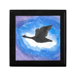 Goose In Flight Gift Box