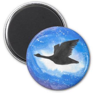 Goose In Flight Magnet