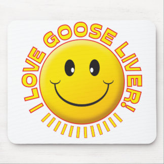 Goose Liver Smile Mousemats