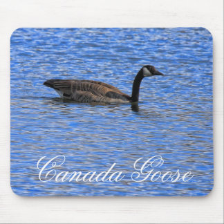 GOOSE ON THE LAKE MOUSE PADS