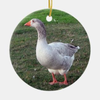 Goose ornament